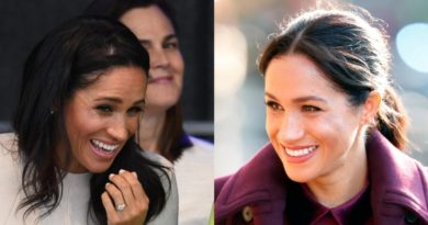 How Meghan's Hair Is A Big Giveaway About Her Due Date