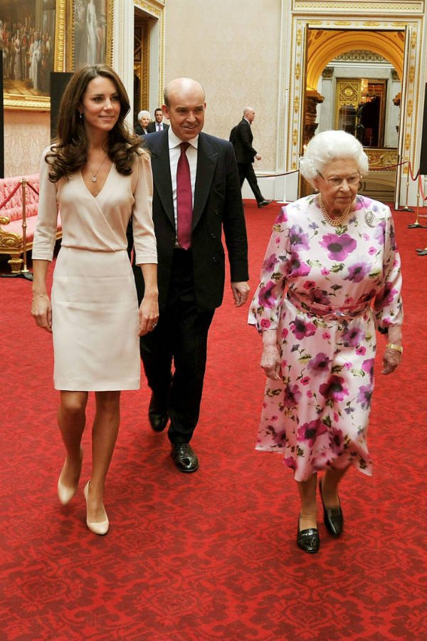 Kate Middleton With Queen Elizabeth