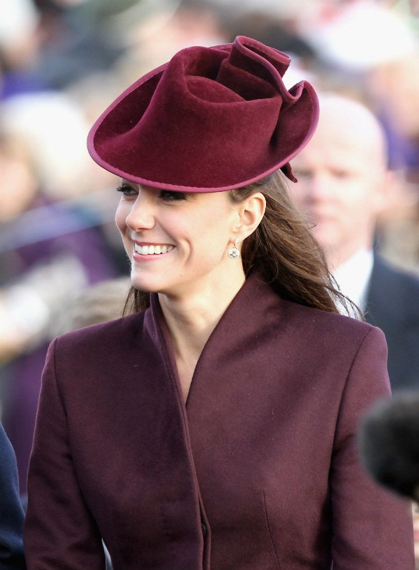 Kate Middleton celebrated her first official Christmas with the royal family after marrying William in 2011