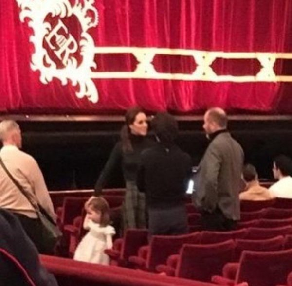"Kate Middleton took Princess Charlotte on a secret outing to watch ""The Nutcracker"" ballet"