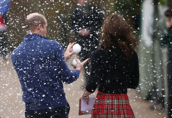 Kate and William host Christmas party for military families
