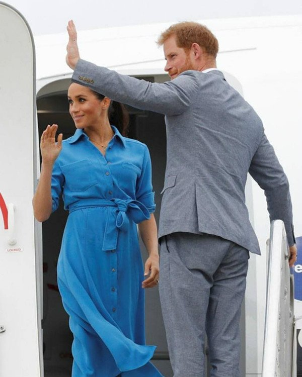 Meghan And Harry Will Travel To The USA After The Birth Of