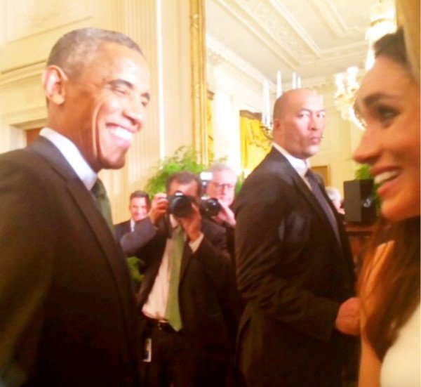 Meghan and Obama