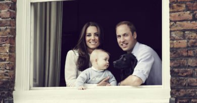 Prince George Kate Middleton Prince William and Dog Lupo