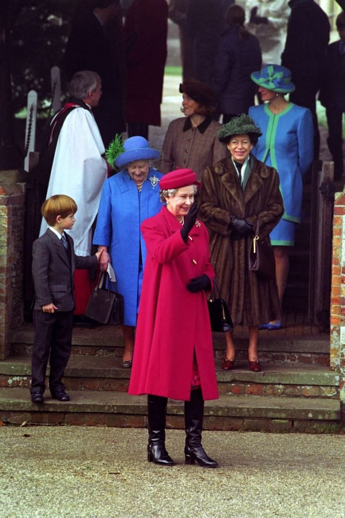 Prince William first attended Christmas service in Sandringham