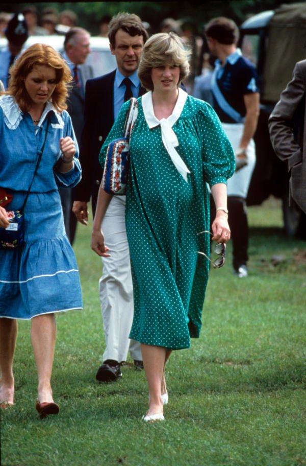 Princess Diana's 80s maternity style