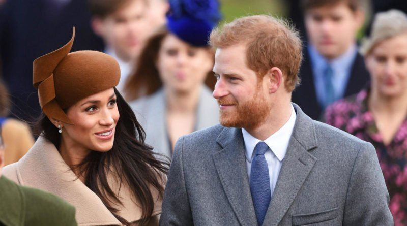 harry and meghan at christmas