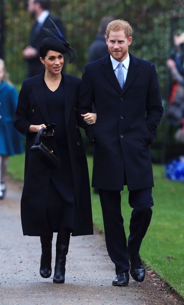 meghan and harry christmas