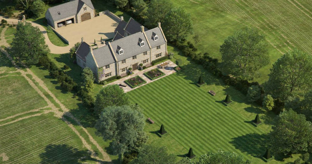 Harry and Meghan's country house in the Cotswolds