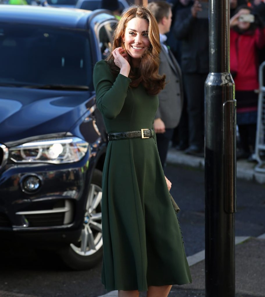 Kate Middleton Green Dress
