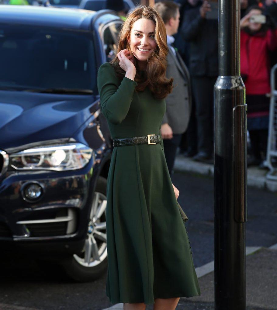 Kate Middleton Green Dress