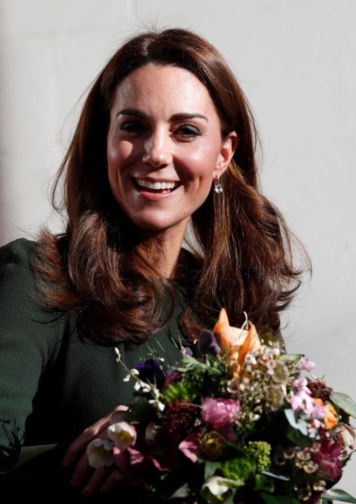 Kate Middleton Visits Family Action 2