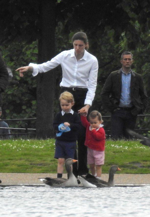 Prince George, Princess Charlotte Kand Nanny
