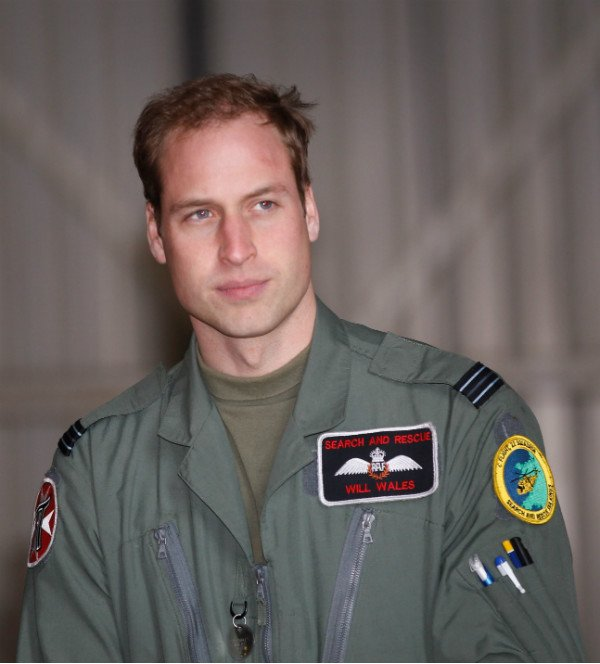 Prince William in RAF