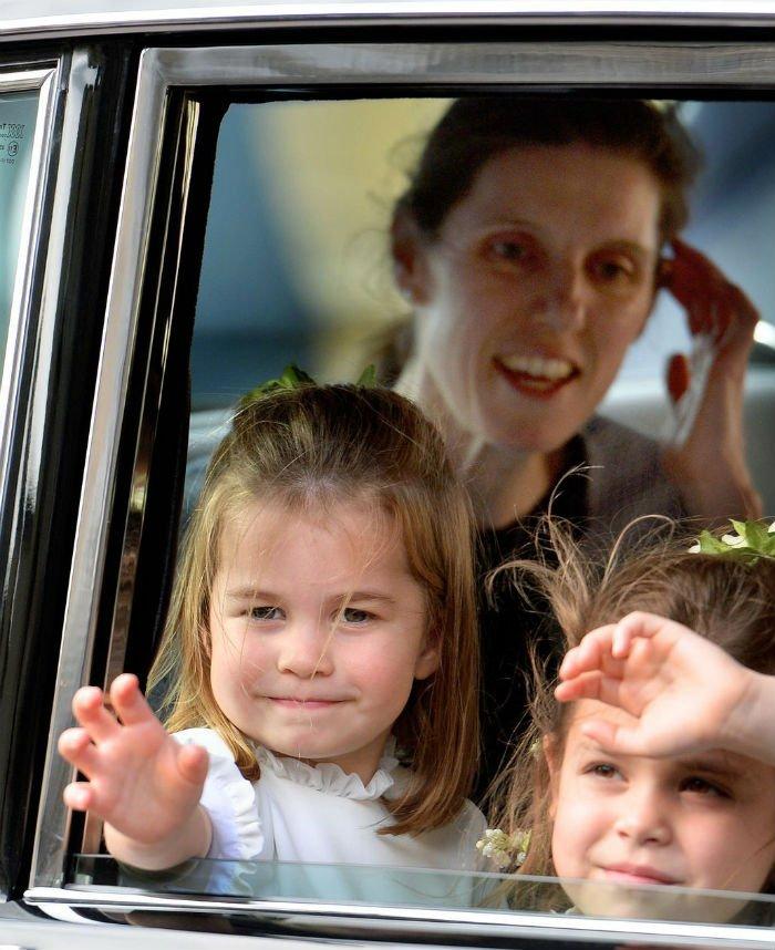 Princes Charlotte and Nanny