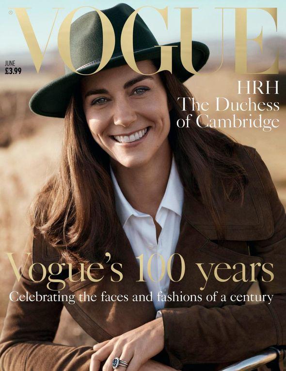 Vogue Kate Middleton