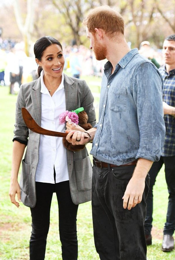 harry and meghan first child