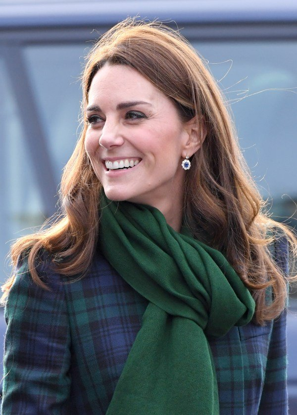 Kate Middleton wore Diana's drop earrings