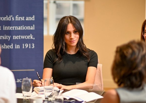 Meghan visited ACU Association of Commonwealth Universities