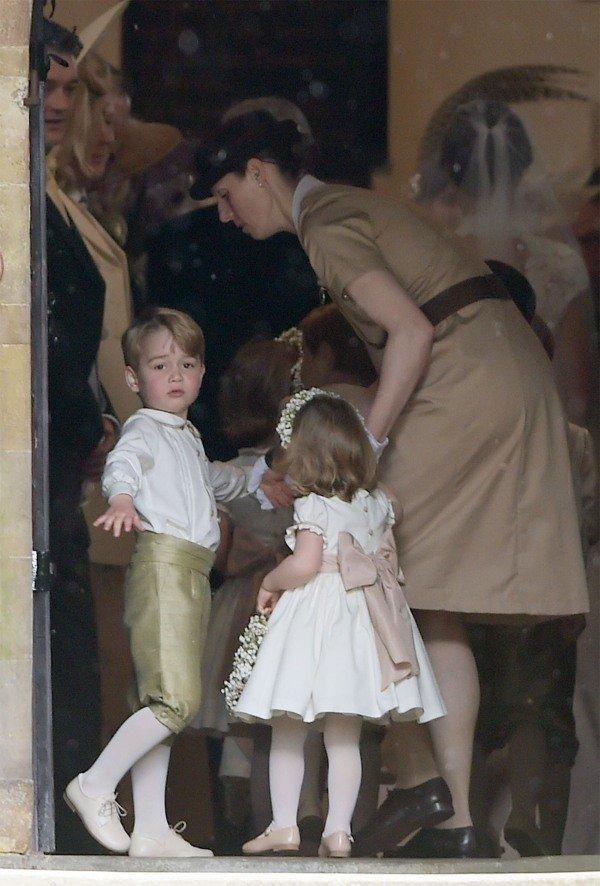George Charlotte and nanny Maria