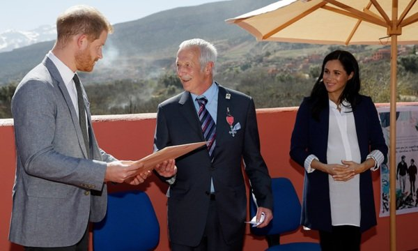 Why Meghan Kept Distance From Harry In Morocco?