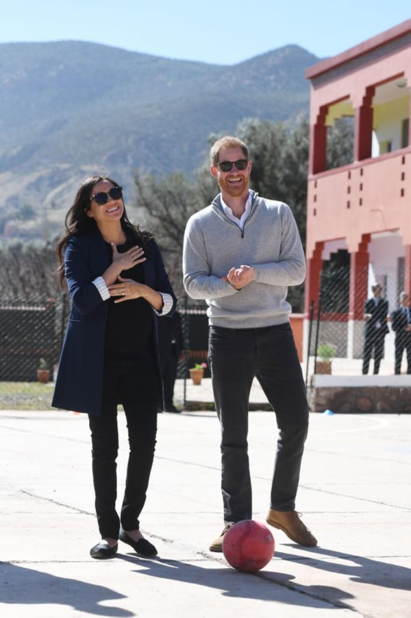 Harry and Meghan visit Morocco