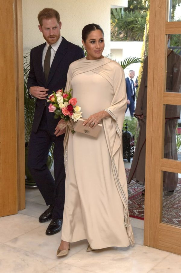 Meghan Stuns In Dior At An Evening Reception In Morocco With Harry