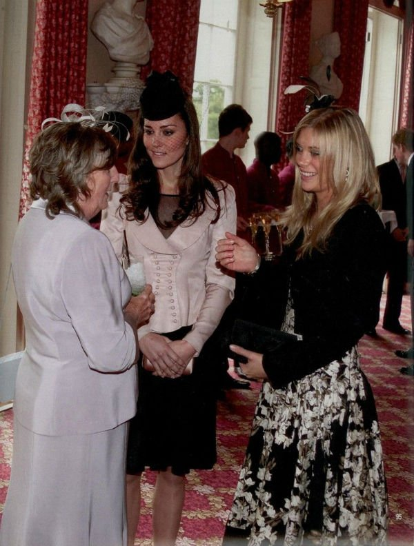 Kate Middleton and Chelsy Davy