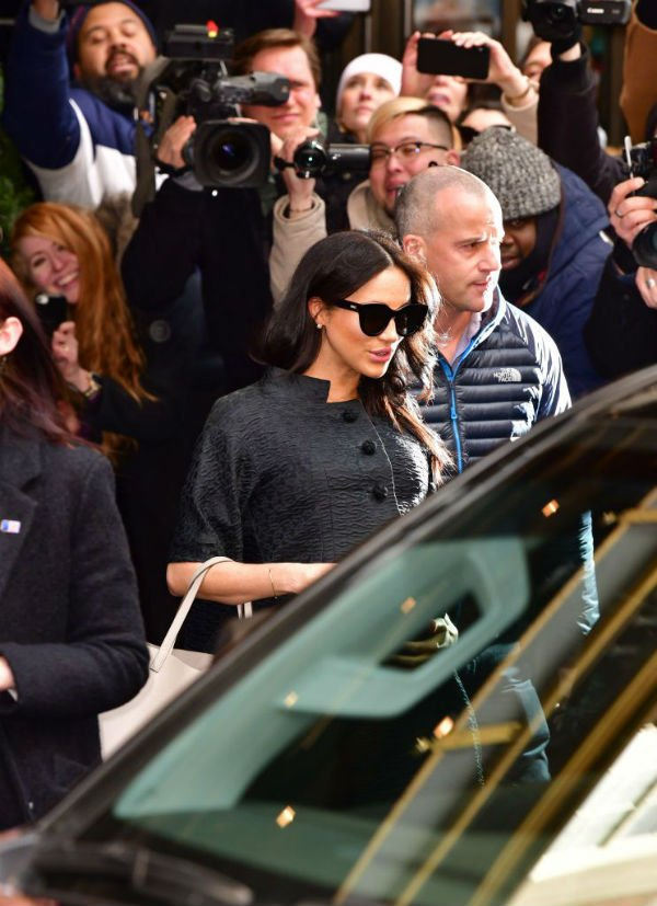 Meghan Duchess of Sussex in NYC