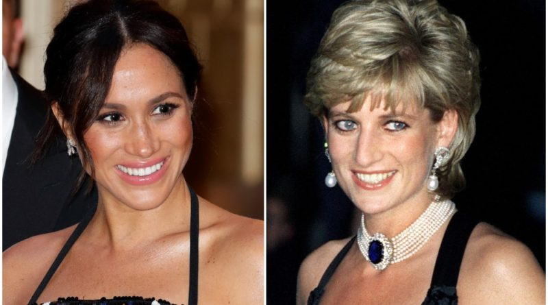 Meghan and Diana