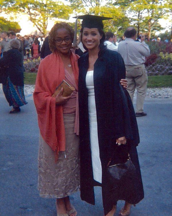Meghan and mom Doria