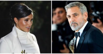 Meghan could be due sooner than we think as George Clooney drops huge hint