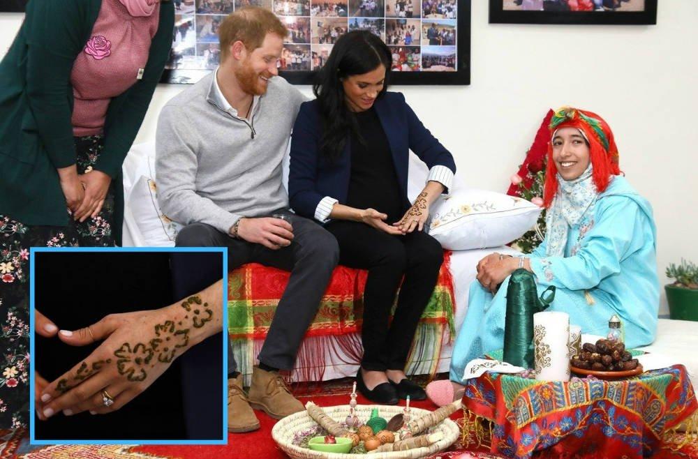 Meghan love her henna