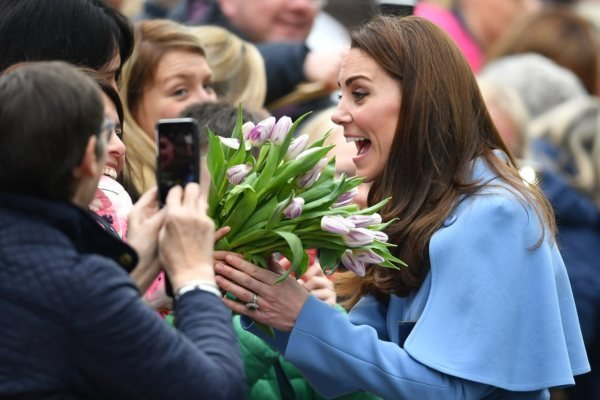 William and Kate in Northern Ireland