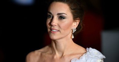 Kate Middleton at bafta 2019