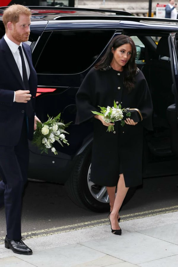 Harry And Meghan Visit To New Zealand House In London