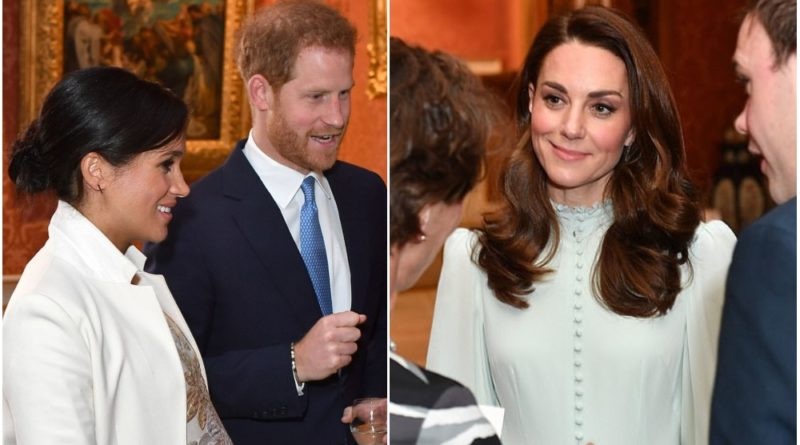 Kate and Meghan at Prince Charles 50 anniversary