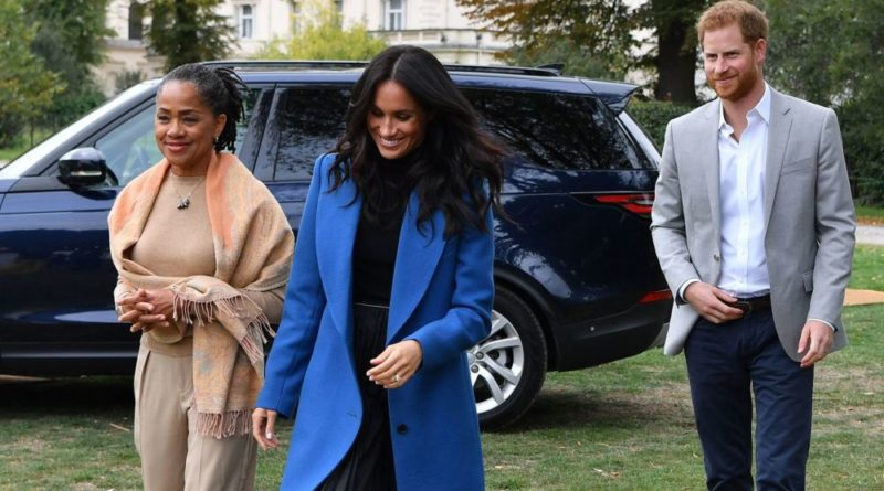 Harry Meghan and Doria