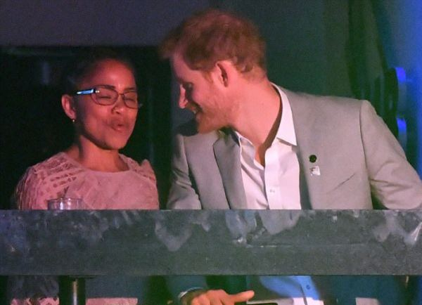 Harry and Doria