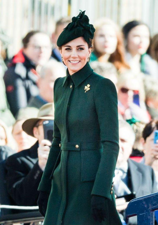 Kate Middleton st. patricks day