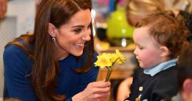 Kate ready for baby number four