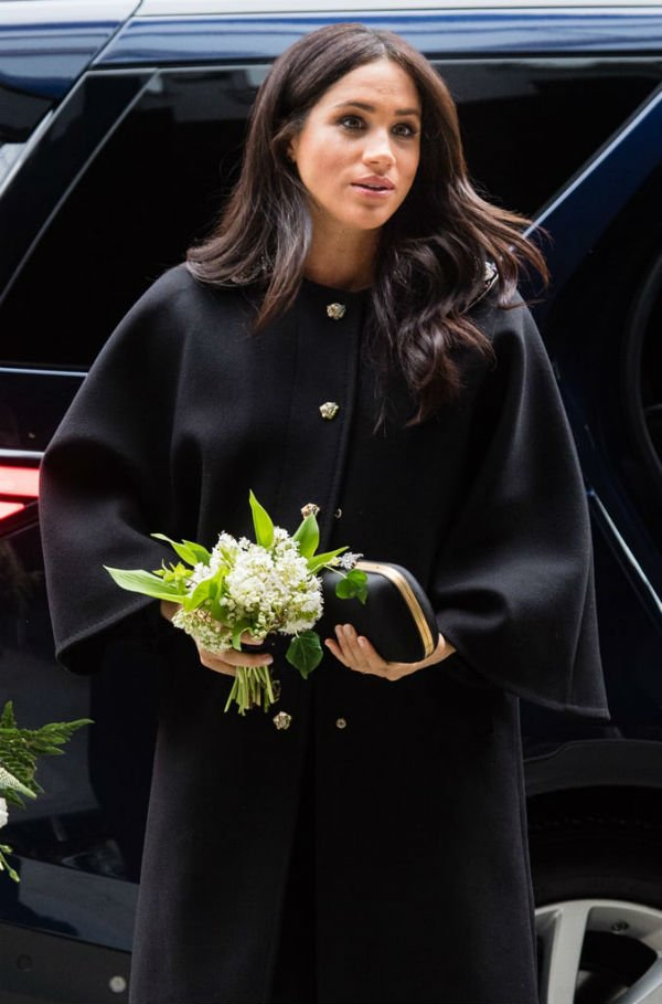Meghan Visit To New Zealand House In London