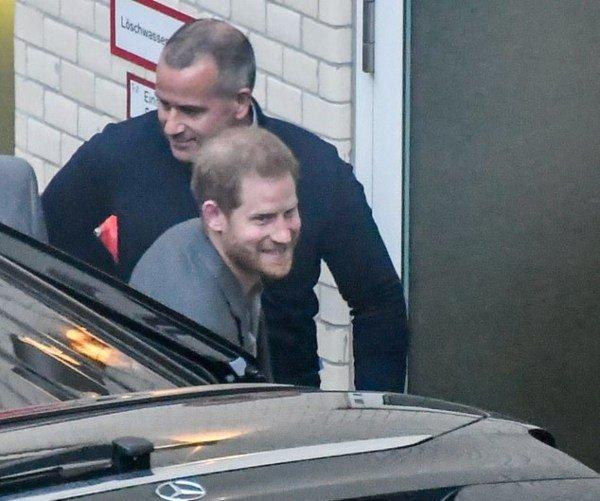 Prince Harry in Berlin