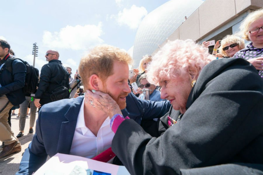 Prince Harry just sent the sweetest birthday message to Aussie fan
