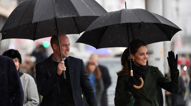 Prince William and Kate Middleton in Blackpoo