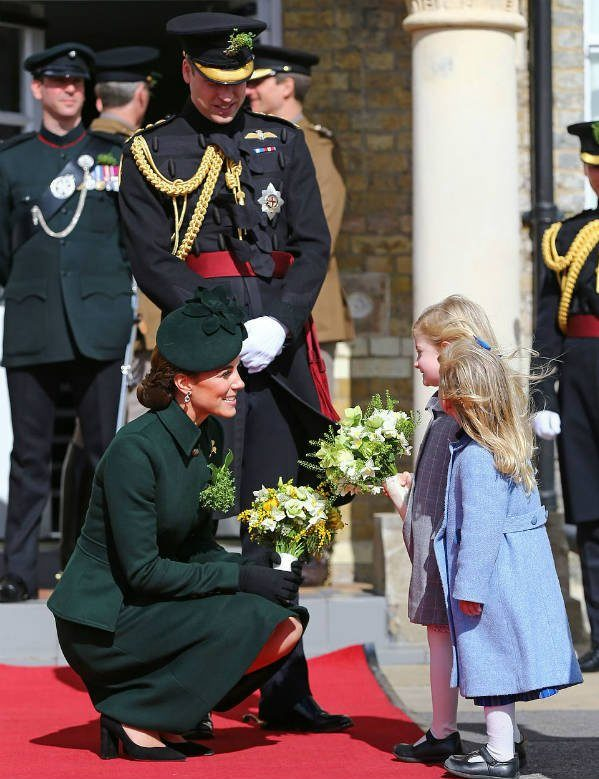 Prince William and Kate Middleton St Patrick's Day