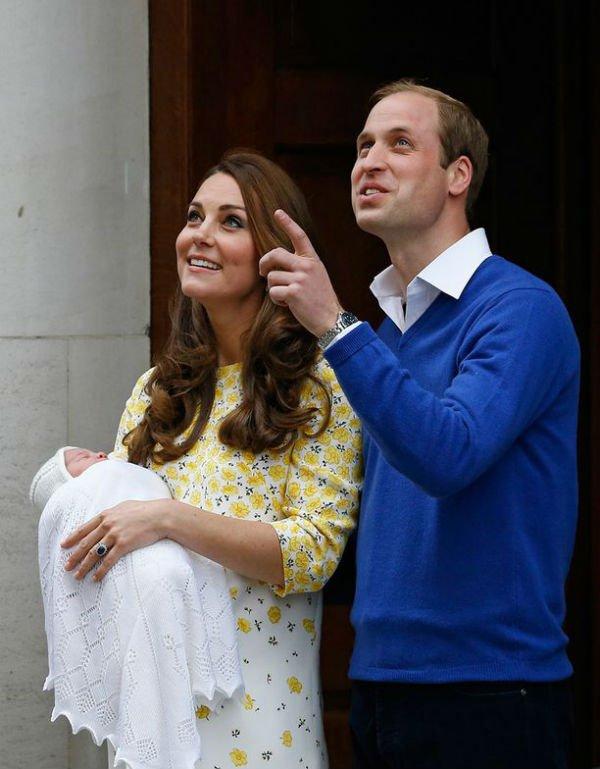 Princess Charlotte could be seen wearing a handmade bonnet