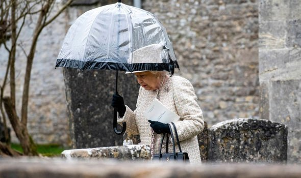 Queen at Christening Lena Tindall
