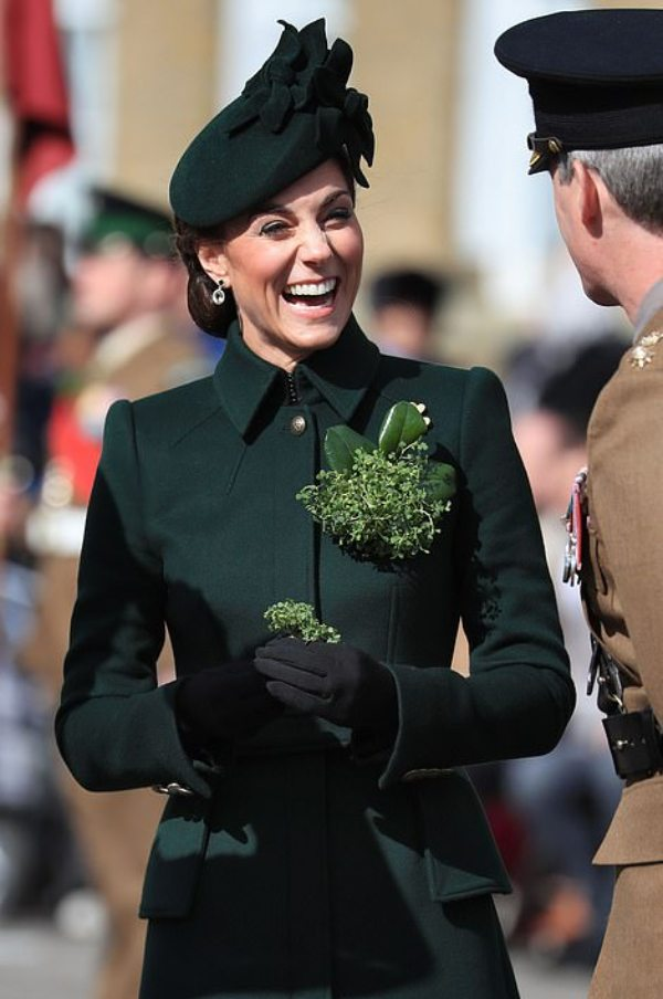 William and Kate St. Patrick's day