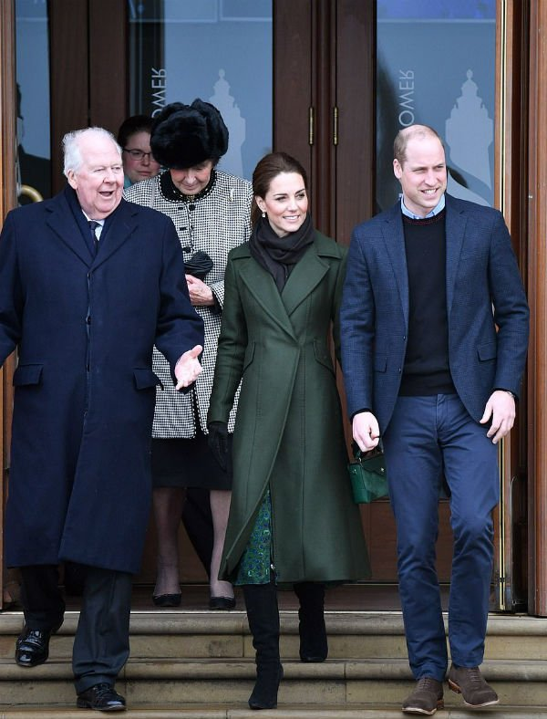 prince william and kate middleton visit Blackpool Tower